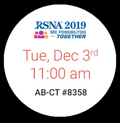 RSNA 2019 Breast CT