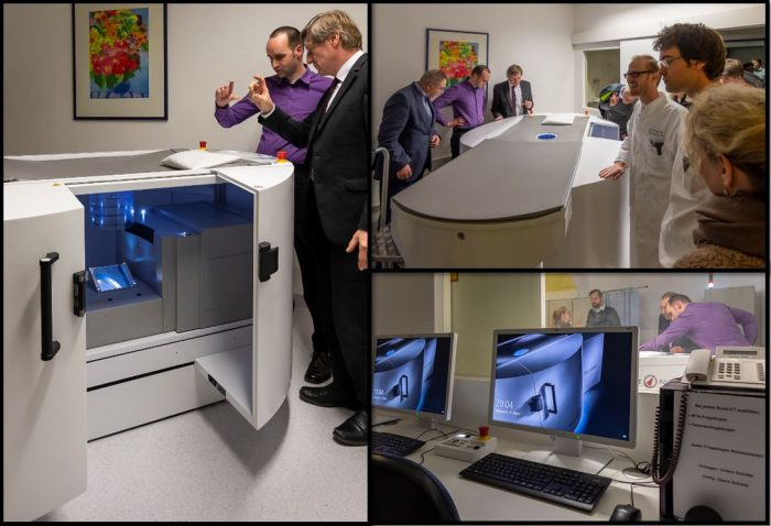 Picture of the Official inauguration of the breast CT at the University Hospital Erlangen